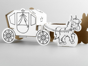 Calafant Horse and Carriage
