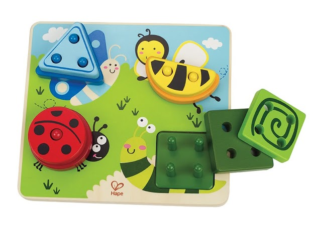 Hape Build a Bug Shape Sorter