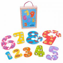 Bigjigs Numbers 1 to 9 Jigsaw Puzzle