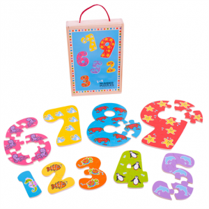 1 - 9 puzzle
