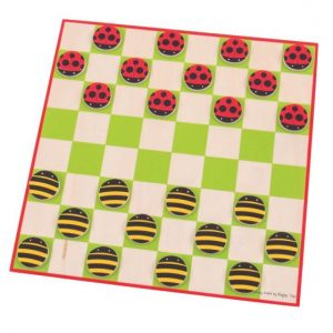 ladybird and bee draughts
